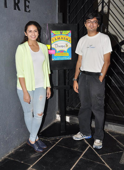 Huma Qureshi Attended Thespo Which Is An Annual Youth Theatre Festival