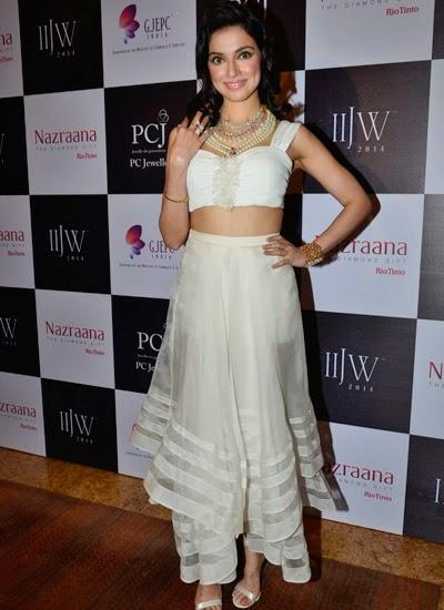 Divya Khosla Kumar Dazzles The Ramp On Day 2 Of IIJW 2014