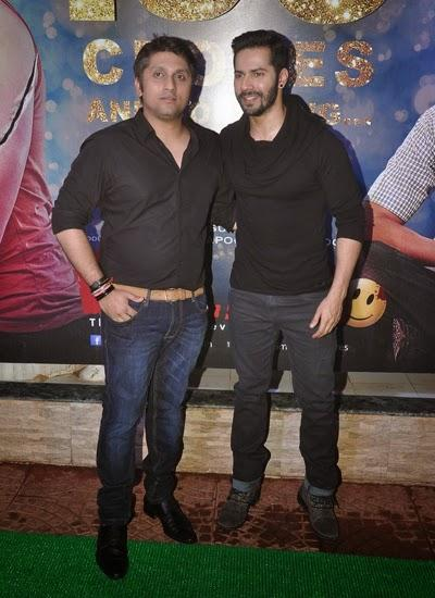 Mohit Suri And Varun Dhawan Cool Pose At Ek Villain 100 Crore Success Bash