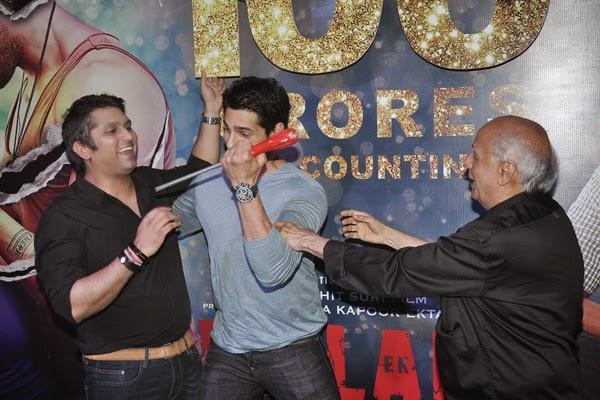 Mohit,Sidharth And Mahesh Cool Look At 100 Crore Success Bash Of Ek Villain Movie