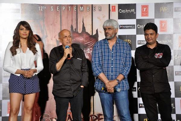 Bipasha,Mahesh,Vikram And Bhushan Launched The Trailer Of Film Creature 3D