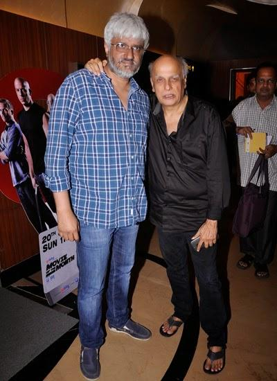 Vikram Bhatt And Mahesh Bhatt Clicked At The Trailer Launch Of Film Creature 3D