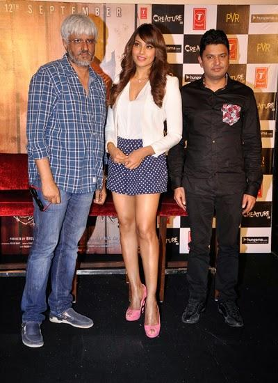 Vikram,Bipasha And Bhushan During The Trailer Launch Of Film Creature 3D