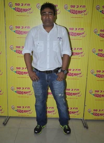 Anjjan Bhatacharya Spotted To Promote Pink Lips At Radio Mirchi