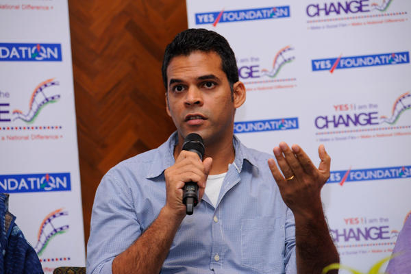 Filmmaker Vikramaditya Discussion With Media During Yes I Am Change Event