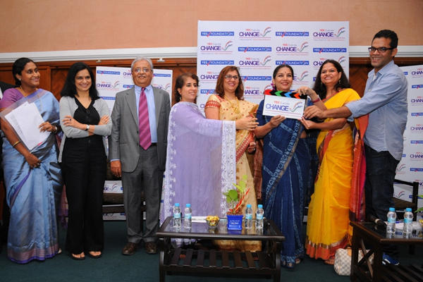 Shabana And Others At Formal Launch Of Yes! I Am The Change 2014