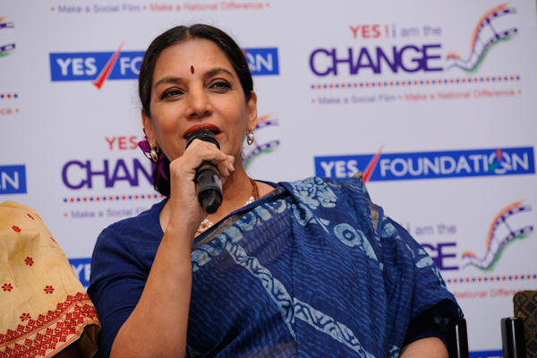 Veteran Actor Shabana Speaks About Panel Discussion Yes I Am The Change