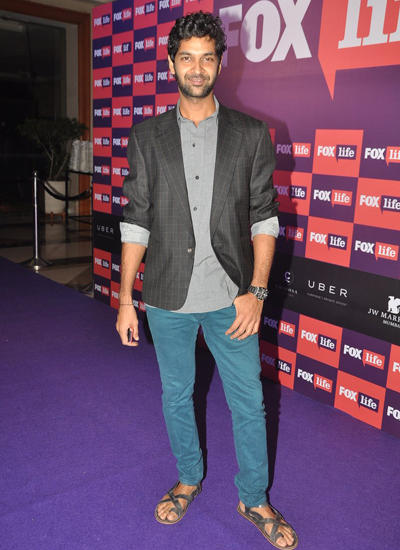Purab Kohli Pose For Camera During Channel Fox Life Launch Event