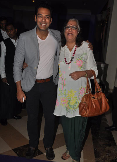 Sameer Kochhar With His Mother At Channel Fox Life Launch Bash