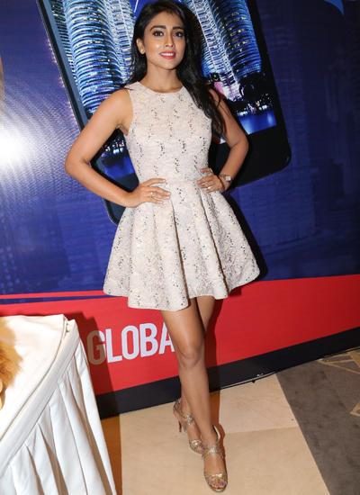 Shriya Looks Hot In This Outfit At SIIMA Awards Curtain Raiser Press Meet