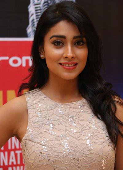 South Star Shriya Saran Attended The SIIMA Awards Curtain Raiser Press Meet