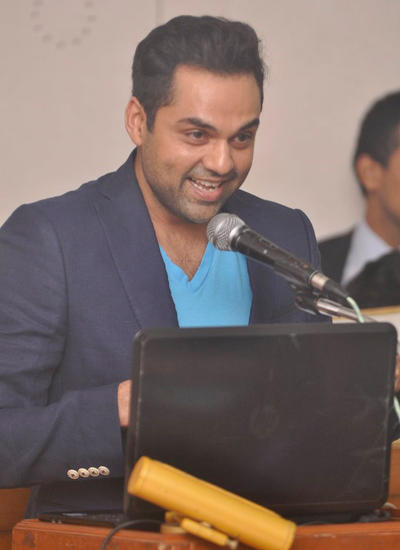 Abhay Deol Inaugurate The Inter-Collegiate Festival Of St. Xavier's College In Mumbai