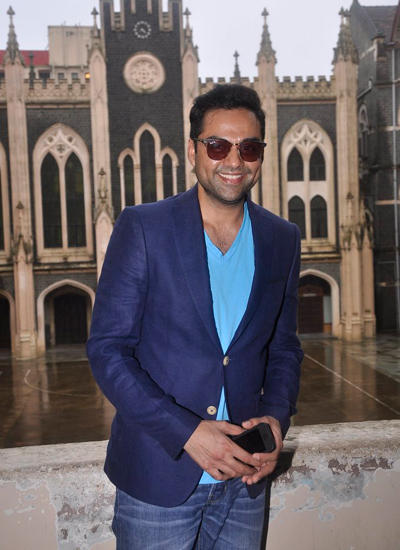 Abhay Deol Inaugurated Malhar Festival At St.Xavier's College In Mumbai