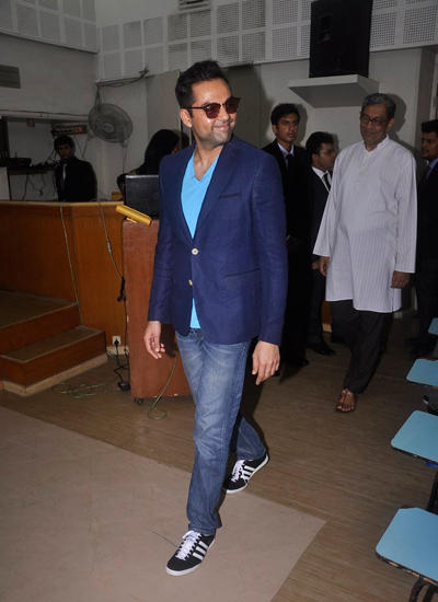 Abhay Deol Snapped To Launch Of Xavier's College Festival Malhar