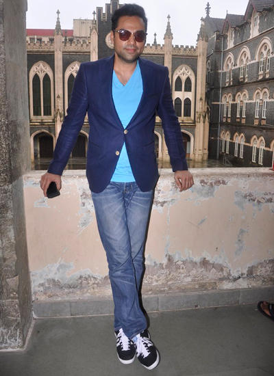 Abhay Deol Strikes A Cool Pose During The Launch Of Xavier's College Festival Malhar