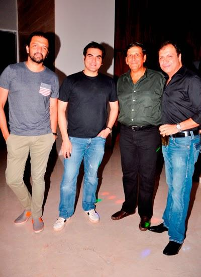 Arbaaz Khan Launches Aqaba Restaurant In Mumbai And Pose With Other Celebs