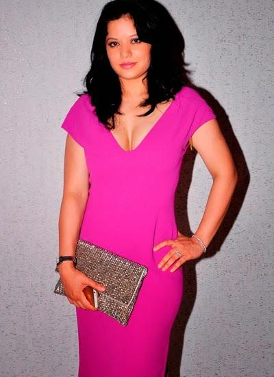 Arzoo Gowitrikar Looks Hot In A Tight Body Con Dress At Launch Event Of Aqaba Restaurant