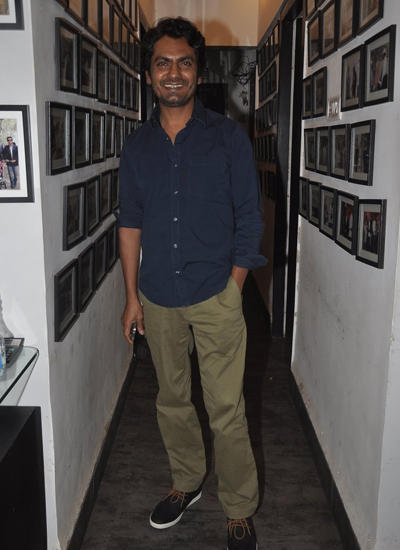 Nawazuddin Siddiqui Attended Charu Anand's Birthday Party At Club Millennium