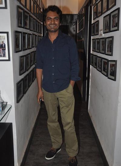 Nawazuddin Siddiqui Attended Charu Anand's Birthday Party At Club Millennium