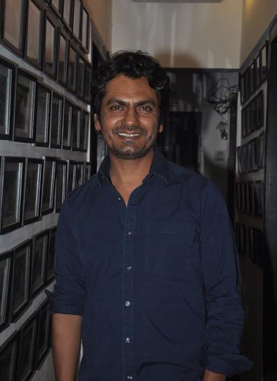 Nawazuddin Siddiqui Spotted At Charu Anand's Bday