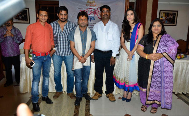 Rajpal Yadav And Other Star Casts Clicked During The Launch Of Dagdabai Chi Chawl Film