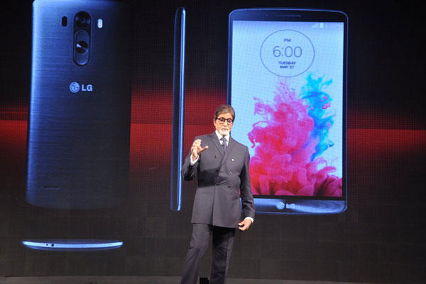 Amitabh Bachchan To Launch Lg G3 Smartphone In India