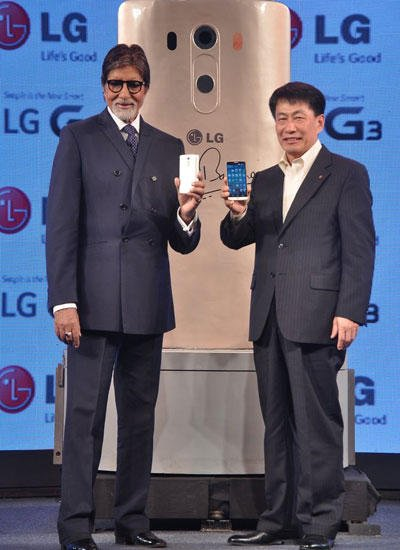 Amitabh Bachchan Launches G3 New Smartphones