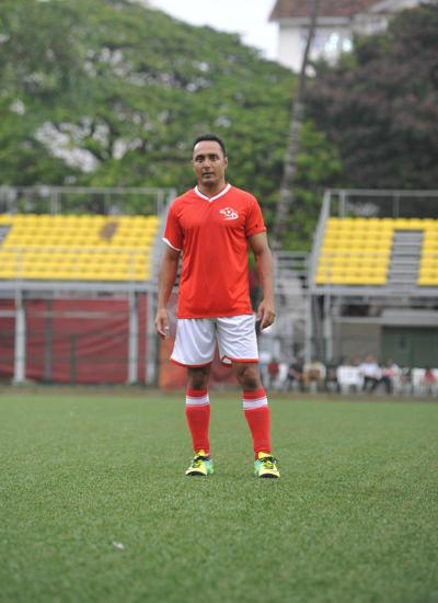 Rahul Bose Posed At Celebrity Football Match 2014
