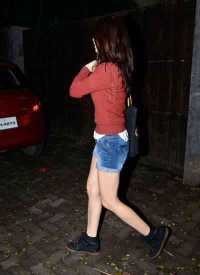 Kalki In Casual Look Spotted At Sunny Super Sound Studio