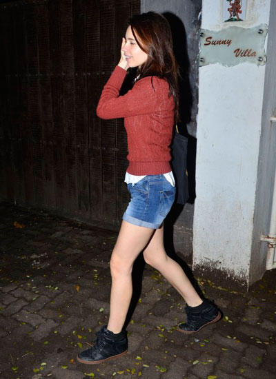 Kalki Koechlin With De Glam Look At Sunny Super Sound Studio