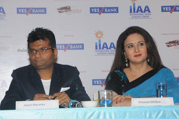 Poonam At The Press Conference Of International Indian Achievers Awards