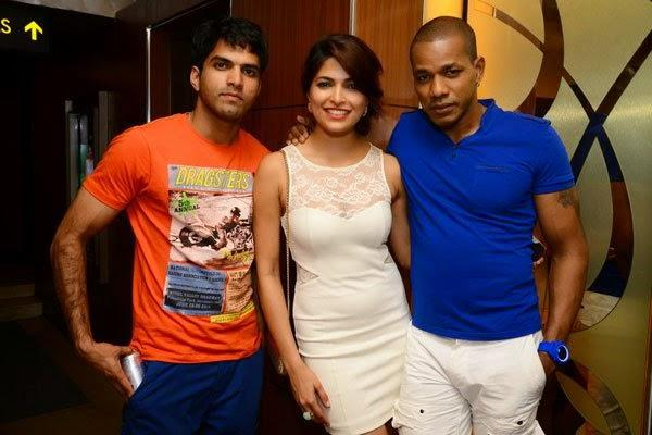 Parvathy And Harrison Cool Look During Pizza 3D Special Screening Party Host By Parvathy Omanakuttan