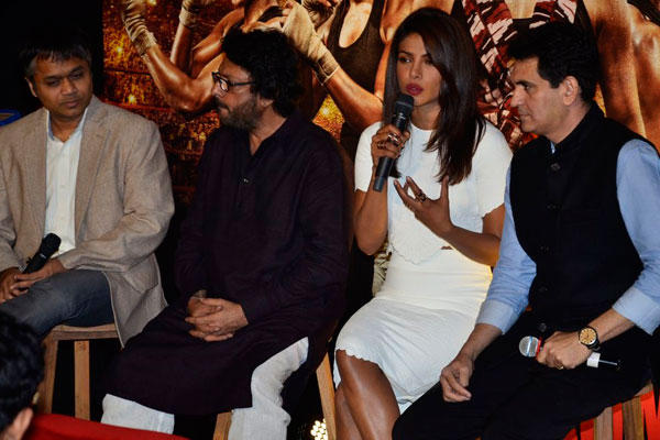 Priyanka Chopra During The Mary Com New Movie Trailer Launch