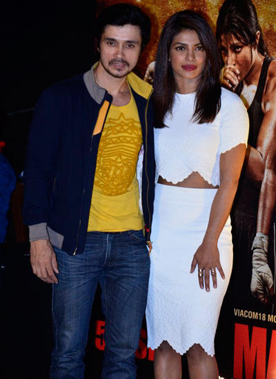Priyanka Chopra Pose During Mary Kom Trailer Launch Shutterbug