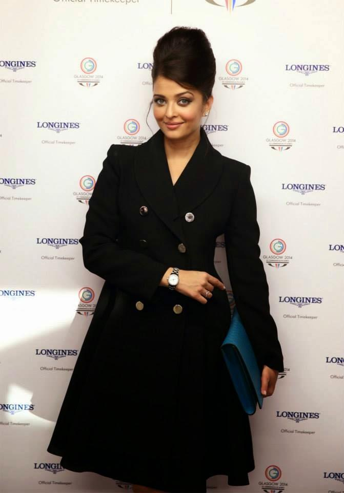 Aishwarya Rai Bachchan Adds Glamour At Commonwealth Games 2014 Opening Ceremony