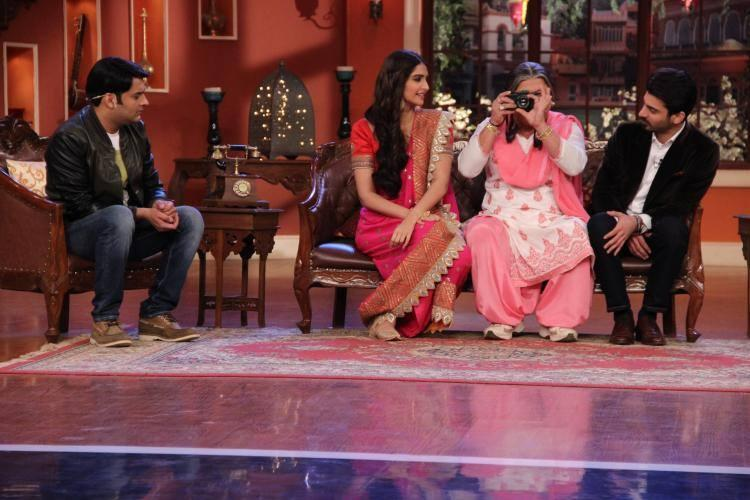 CNWK Hosted Khoobsurat Sonam Kapoor With Handsome Fawad Khan