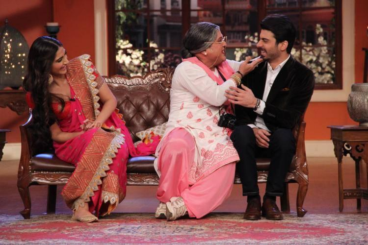 Fawad Khan Is The Latest Victim To Dadi's Shagun Ki Pappi