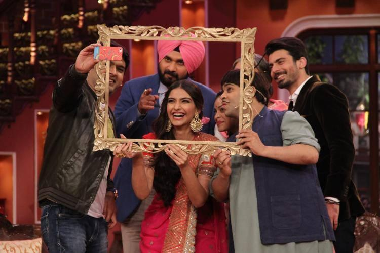 Khoobsurat Cast On The Sets Of Comedy Nights With Kapil