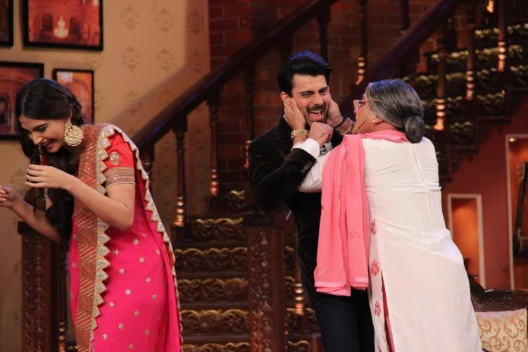 The Lead Pair Of Khoobsurat Had A Fun Time On The Sets Of CNWK