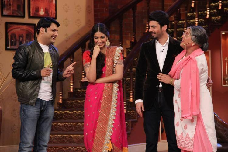 Sonam Looked Aptly Khoobsurat On The Comedy Show In Her India-Western Outfit