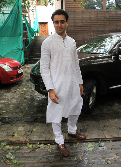 Imran Khan Celebrates Eid At Aamir Khan Residence