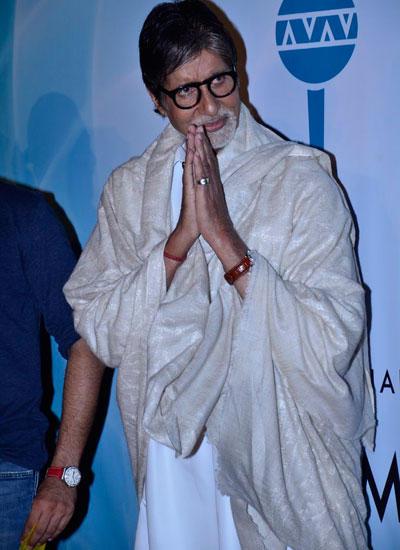 Amitabh Bachchan Graced The Launch Of Shekhar Ravjiani Hanuman Chalisa