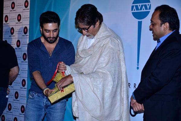 Shekhar And Big B Unveils The New Single Hanuman Chalisa