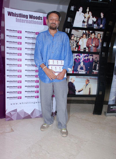 Shekhar Kapur Attend The Graduation Ceremony Of Whistling Woods International Institute