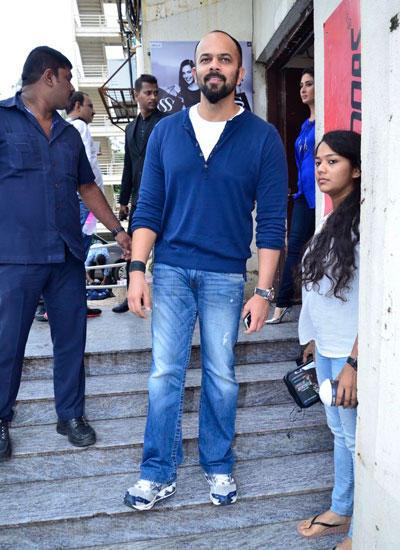 Director Rohit Shetty Unveils Singham Returns Merchandise