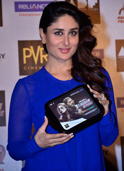 Kareena Kapoor Promoted Her Upcoming Movie Singham Returns