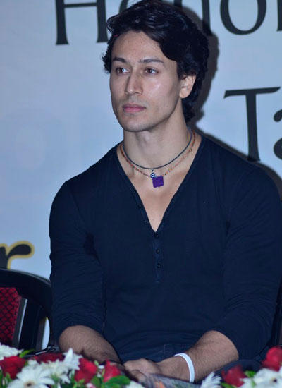 Tiger Shroff Attend The Press Meat Held At Kukkiwon World Taekwondo Headquarters