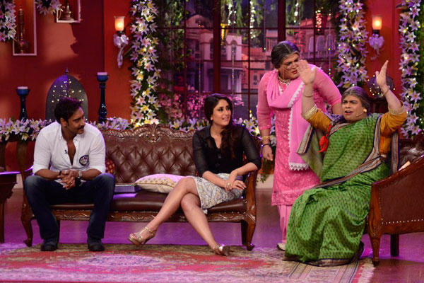 Kiku Tried To Compete With Ali For Ajay And Kareena Attention On CNWK