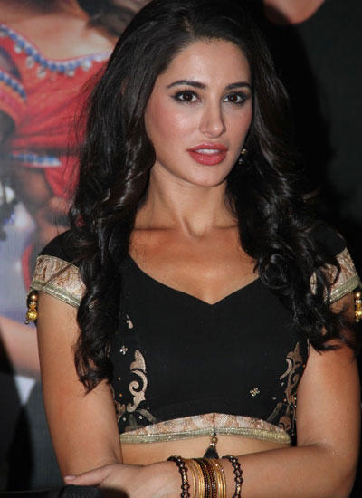 Nargis Attend Pressmeet Of Sahasam Movie Song With A Hot Look