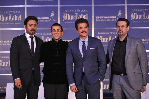 Anil And Irrfan With Chetan Bhagat Attend A Hollywood Film Panel Discussion